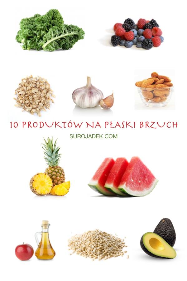 superprodukty na odchudzanie brzucha