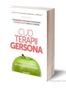 książka na temat diety Gersona i leczenia raka
