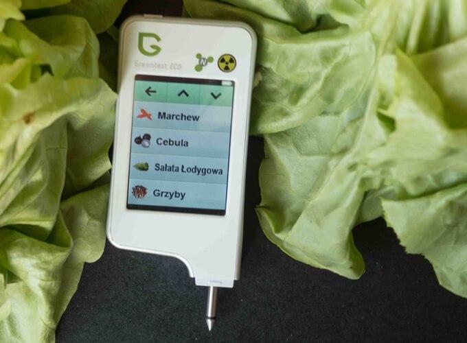 greentest urządzenie do testowania jakości warzy i owoców