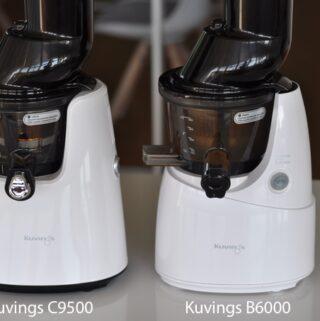 różnice między Kuvings C9500 i B6000