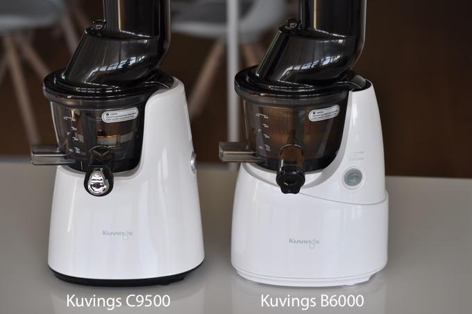 Kuvings C9500 oraz B6000 - porównanie modeli