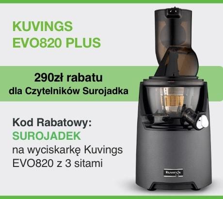 wyciskarka Kuvings EVO 820 w promocji z kodem rabatowym na 290zł