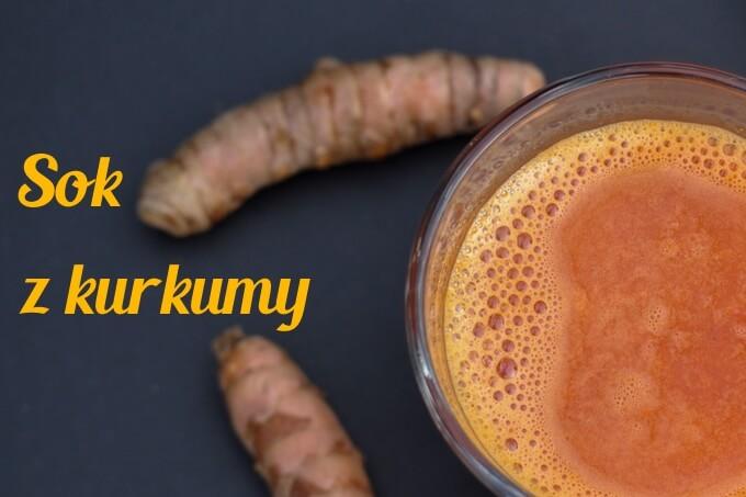 Sok z kurkumy, marchewki i cytrusów