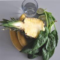 Koktajl Szpinak – Ananas – Banan