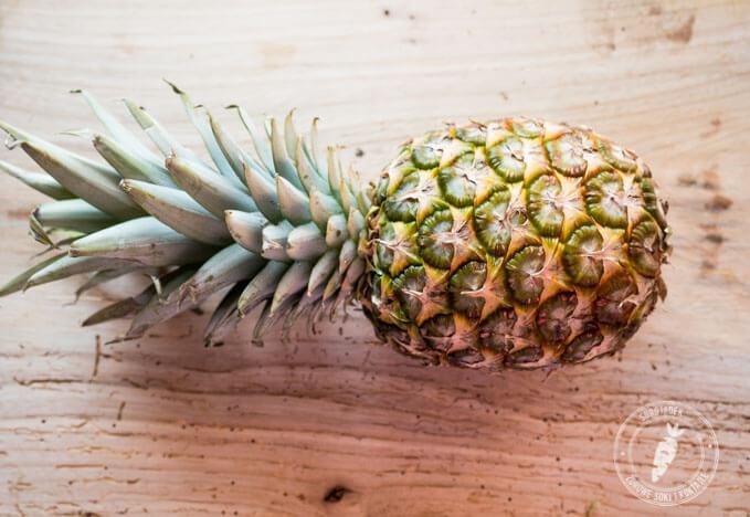Sok z anansa z wyciskarki wolnoobrotowej