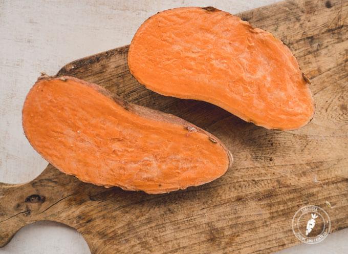 słodki ziemniak to bogate źródło betakarotenu