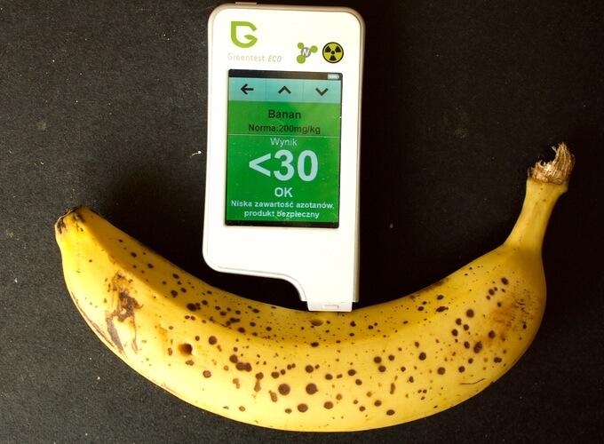 eko banany z Lidla