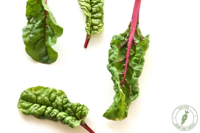 super zdrowe liście buraka naciowego idealne do koktajlu