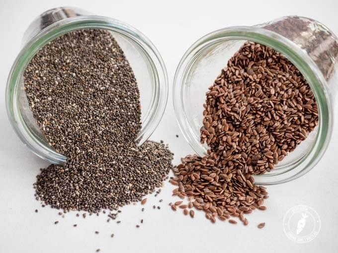 nasiona chia - zdrowe tłuszcze omega w odpowienidje proporcji