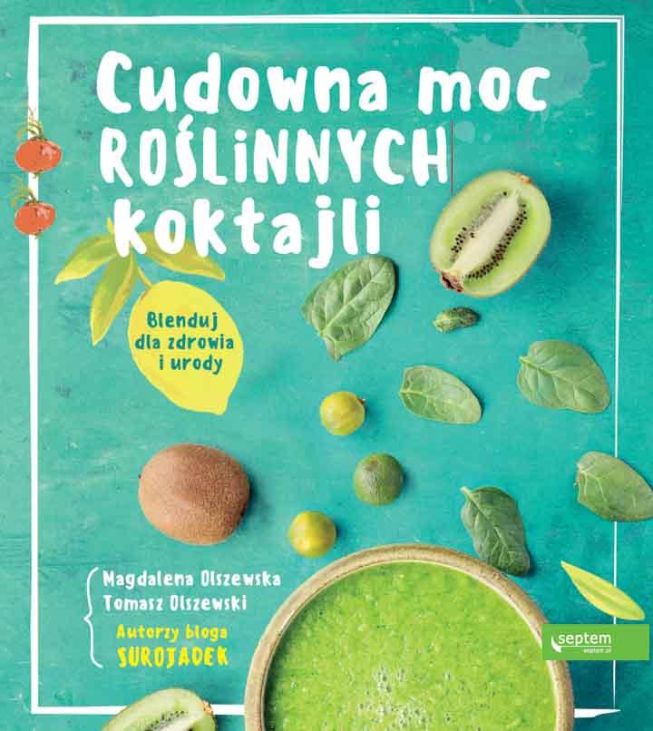 Cudowna moc roślinnych koktajli to książka która udowadnia, że zdrowe odżywianie nie musi być ani czasochłonne, ani skomplikowane.