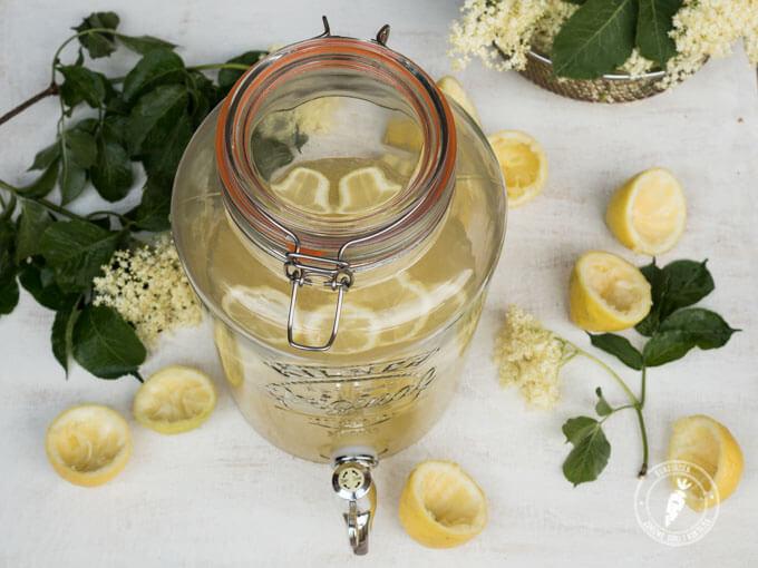 przepis na kwiat dzikiego bzu czyli prosty przepis na lemoniadę