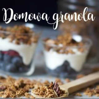 przepis na granolę z orzechami, nasionami konopi i pestkami dyni