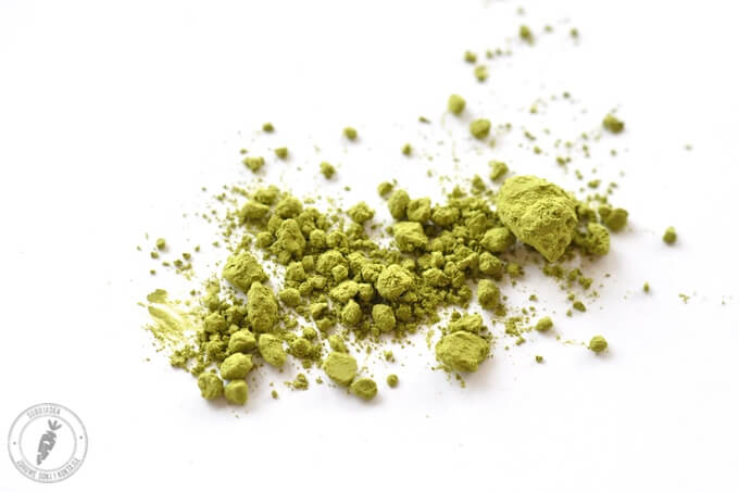 herbata zielona w proszku matcha
