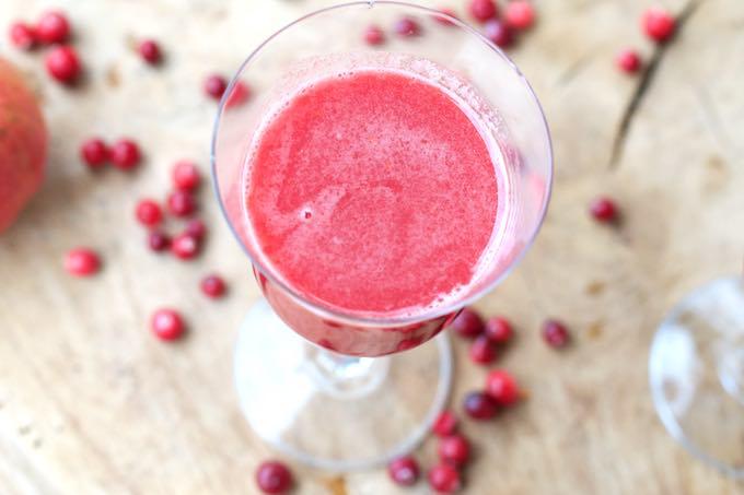 Sok z żurawiny czyli różowe wino bezalkoholowe