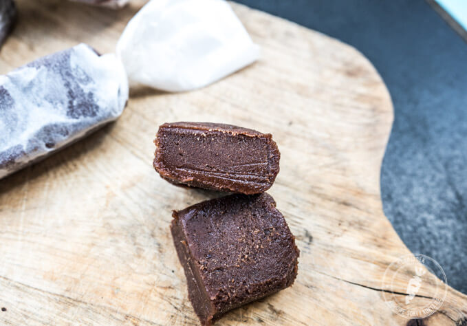 domowy blok czekoladowy