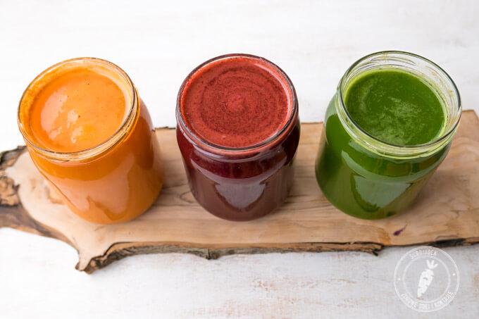 najszybszy i najsmaczniejszy sposób na włączenie do codziennej diety dużej ilości warzyw to wyciskanie soków