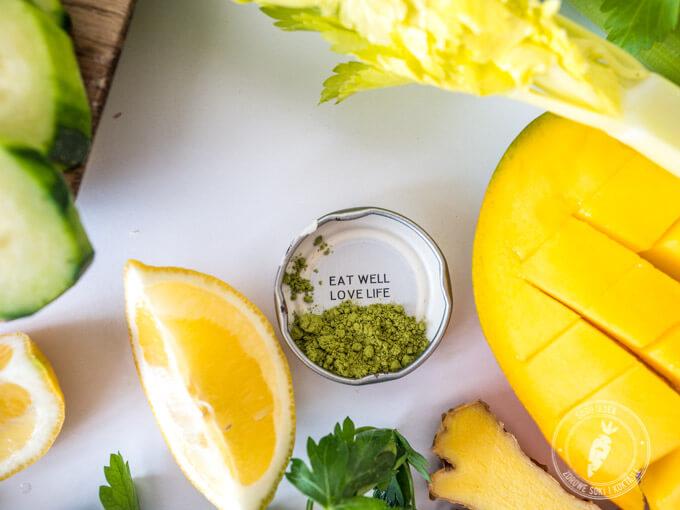 zielony koktajl to idealne śniadanie. Sycący, a jednocześnie dodaje energii.