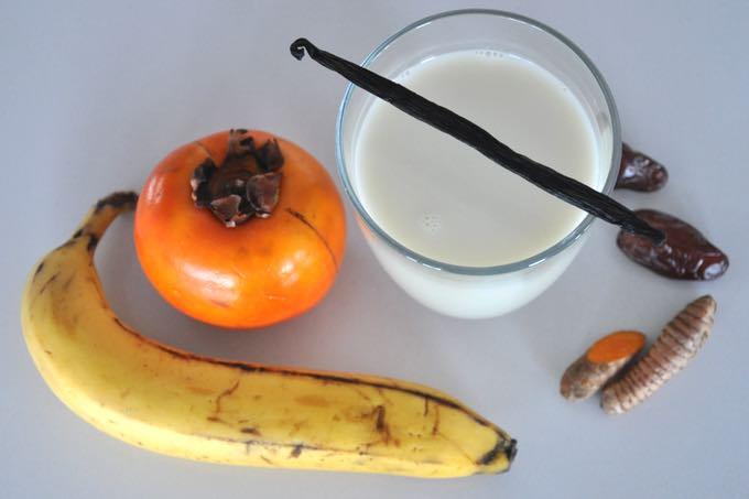 Przepis na koktajl z kurkumą