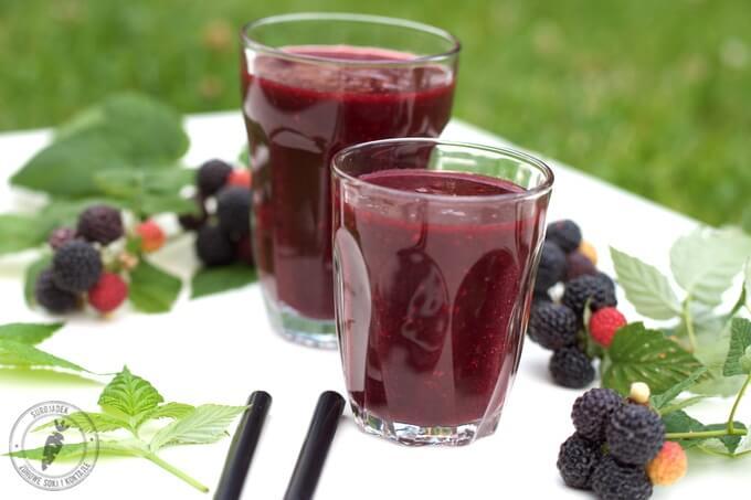 letni koktajl - słodki, zdrowy i małokaloryczny
