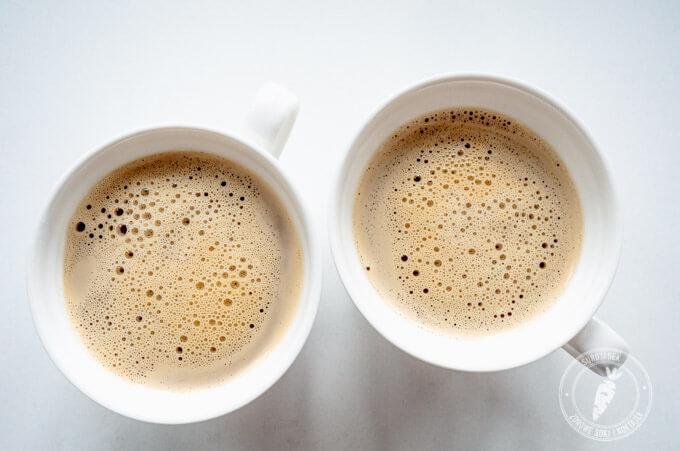 Waniliowa latte wspierająca pracę wątroby