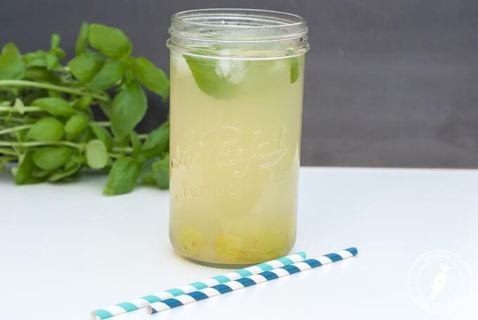 zdrowa domowa lemoniada bez cukru