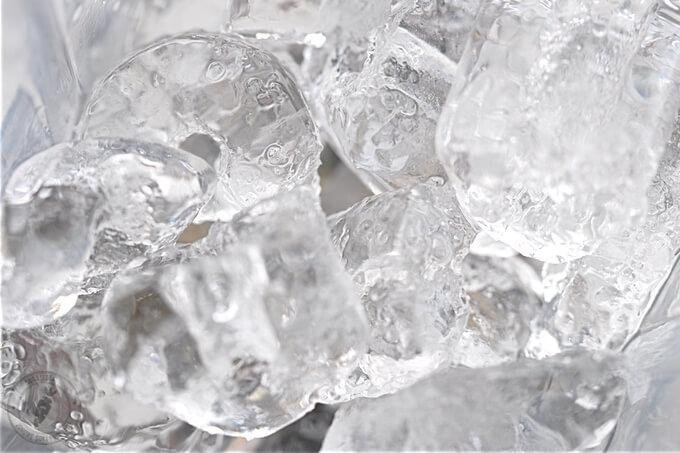 lód niezbędny składnik każdej lodowej frappe nie tylko z matcha