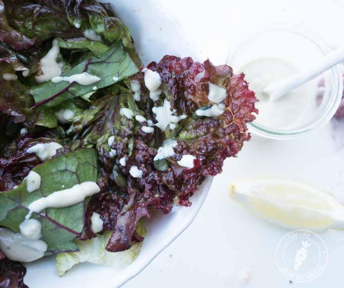 majonezowy sos do sałaty w 100% roślinny