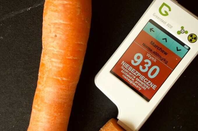 Greentest. Wykrywacz chemii w warzywach i owocach.