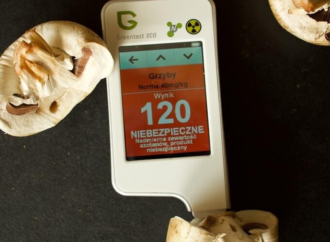 pieczarki i inne grzyby mocno chłoną szkodliwe substancje