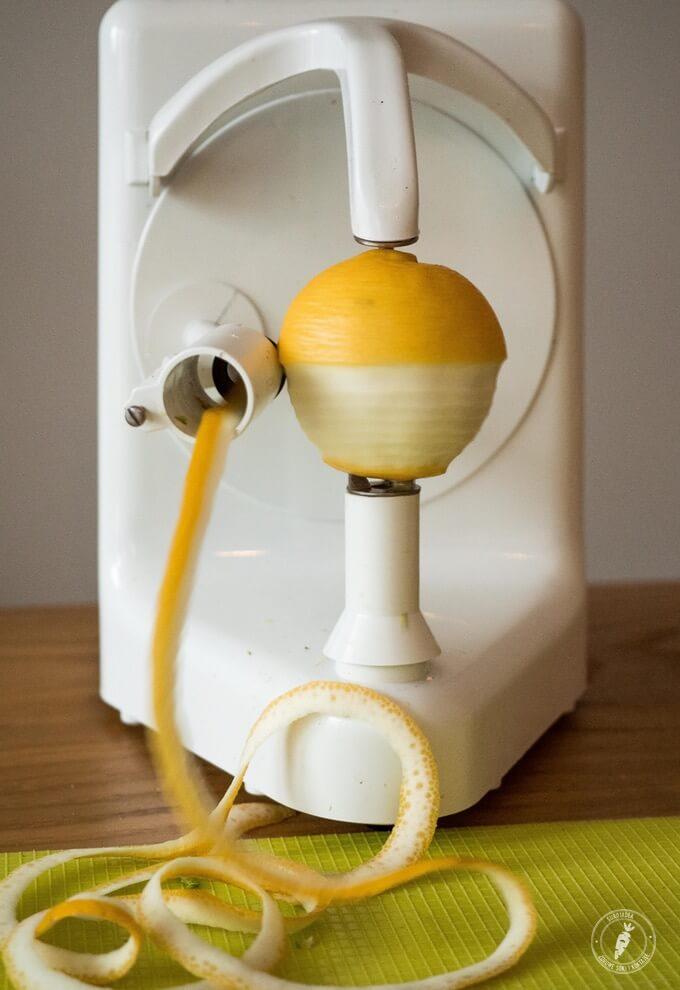 elektryczna obieraczka do ziemniaków, pomarańczy i jabłek