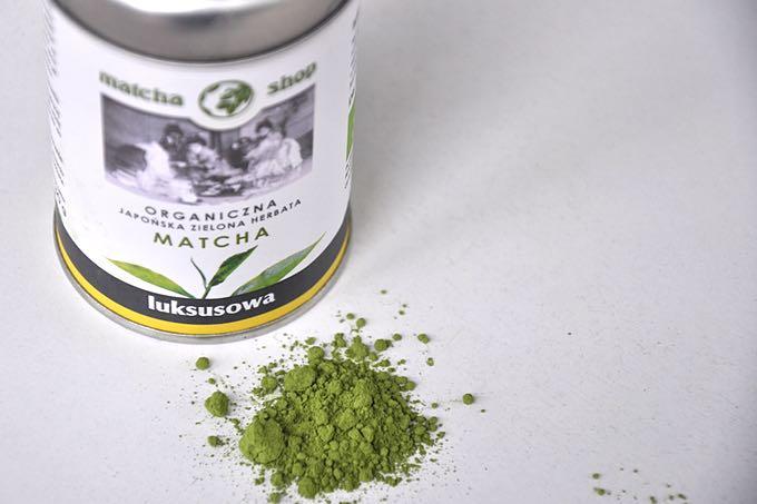 organiczna herbata matcha