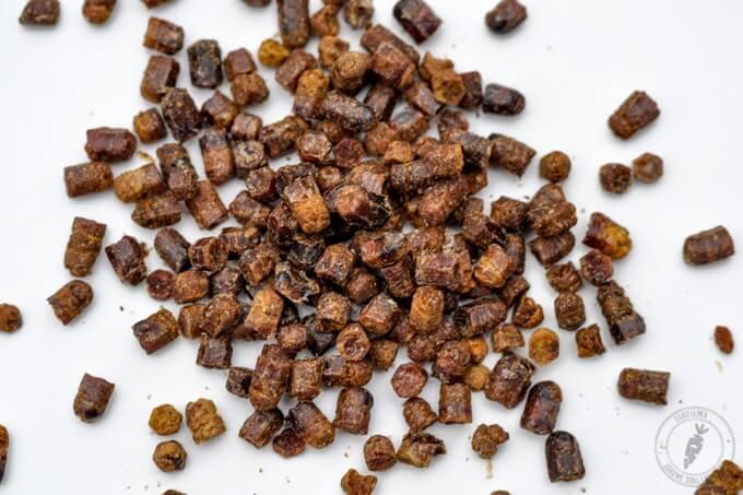 pierzga powstaje z pyłku pszczelego