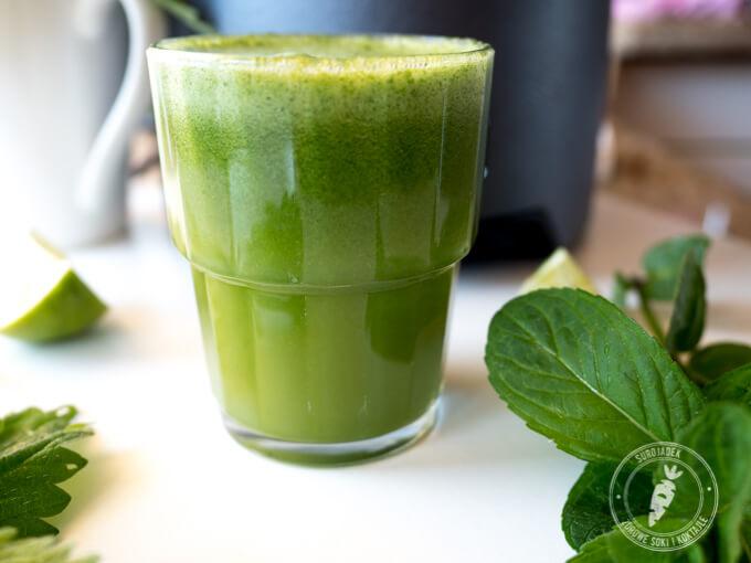 przepis na zdrowy sok z wyciskarki wolnoobrotowej