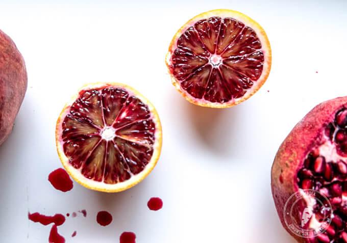 styczeń to sezon na pomarańcze Moro o wyjątkowym zabarwieniu