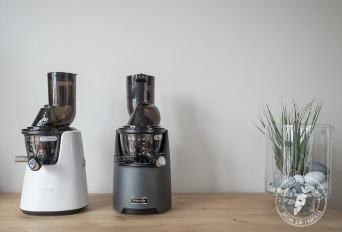 model Evolution wyciska bardzo klarowny sok, szybciej i ciszej od poprzedniego modelu C9500