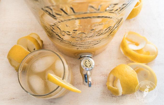 jak przygotować lemoniadę domową?