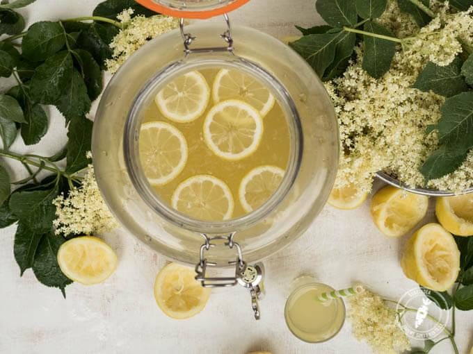 Kwiat czarnego bzu – lemoniada, Hyćka czy ice tea ?