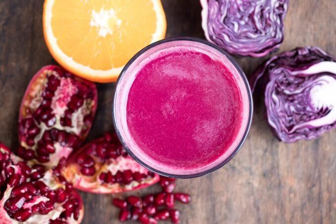 kapusta czerwona i sok z kapusty czerwonej to bogate źródło antyoksydantów
