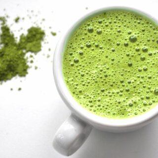 przepis na zielony koktajl Zen z herbatą matcha