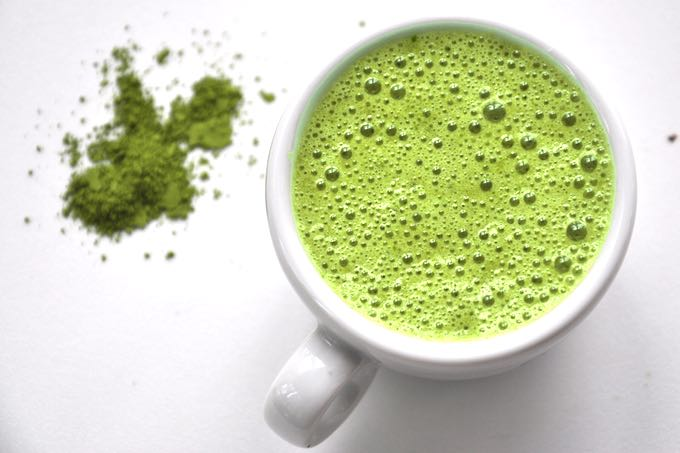 Zielona herbata Matcha przepis na zielony koktajl ZEN