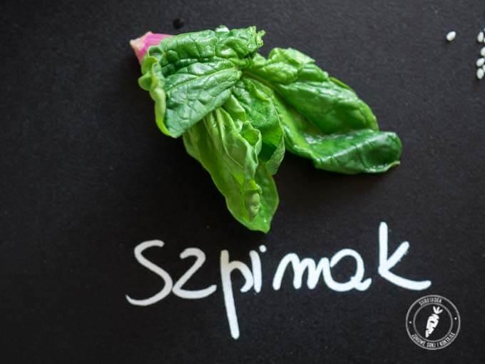 szpinak to najdelikatniejsze w smaku zielone liście i idealny składnik każdego zielonego koktajlu