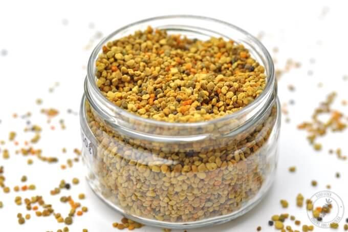 pyłek pszczeli naturalny superpokarm pełem witamin, mikroelementów