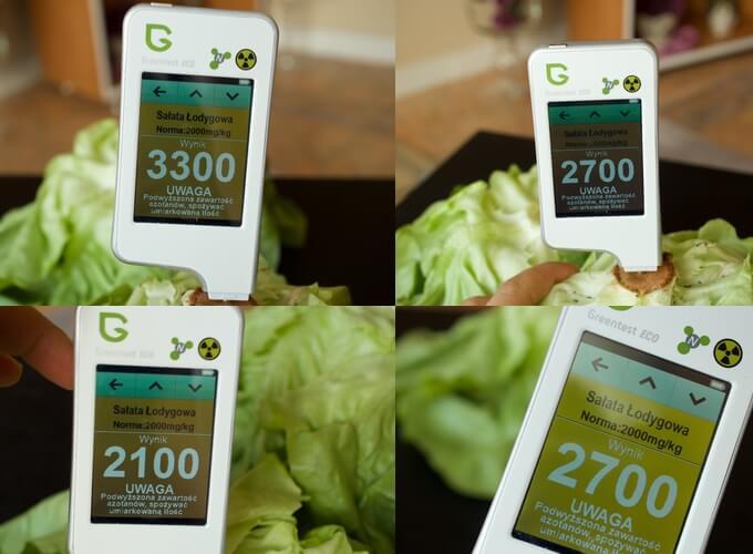sałata i inne zielone liście kumulują w sobie azotany, dlatego kupuj je tylko ze sprawdzonego źródła