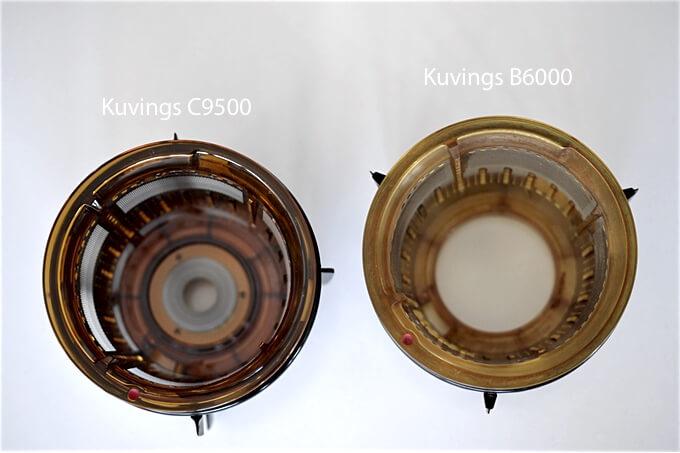 dodatkowa uszczelka w sitku jeszcze lepiej chroni przed wyciekami w najnowszym modelu wyciskarki Kuvings