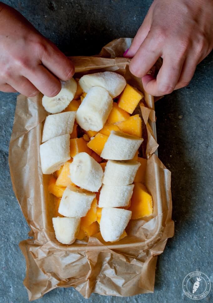 mrożone owoce idealne do lodów domowych