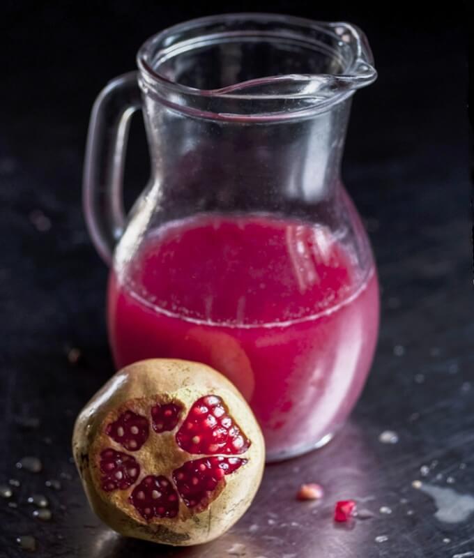 sok z granatu redukuje ryzyko chorób układu krążenia