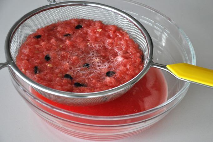 jak zrobić lemoniadę z arbuza