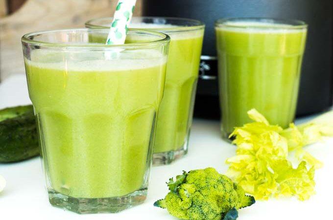 jak zrobić smaczny sok z brokułów?