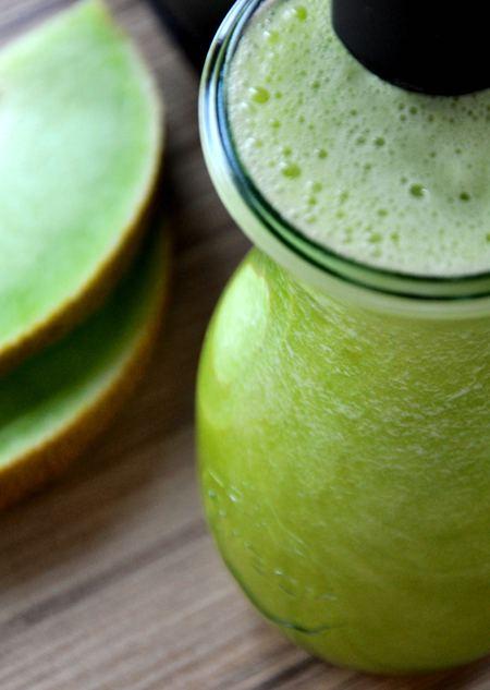 pyszny sok z melonem galia