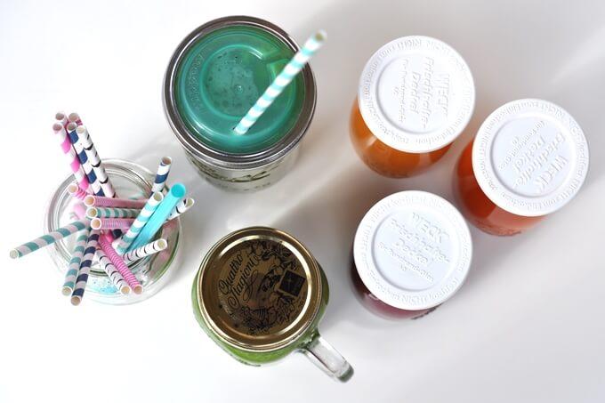 w co zapakować sok jak przechowywać koktajl